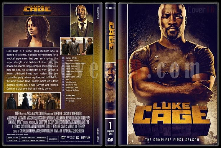 Luke Cage (Season 1) - Custom Dvd Cover - English [2016-?] - CoverTR