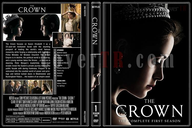 The Crown Season 1 Custom Dvd Cover Box Set English 2016 Covertr