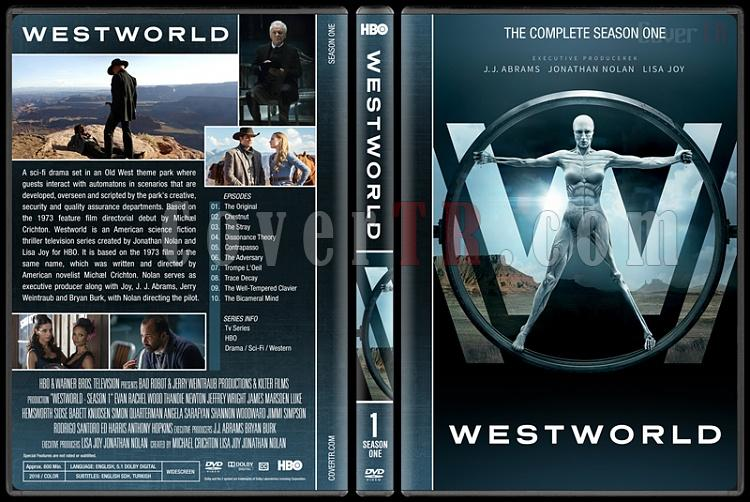 Westworld (Season 1) - Custom Dvd Cover Box Set - English [2016-?]-standardjpg
