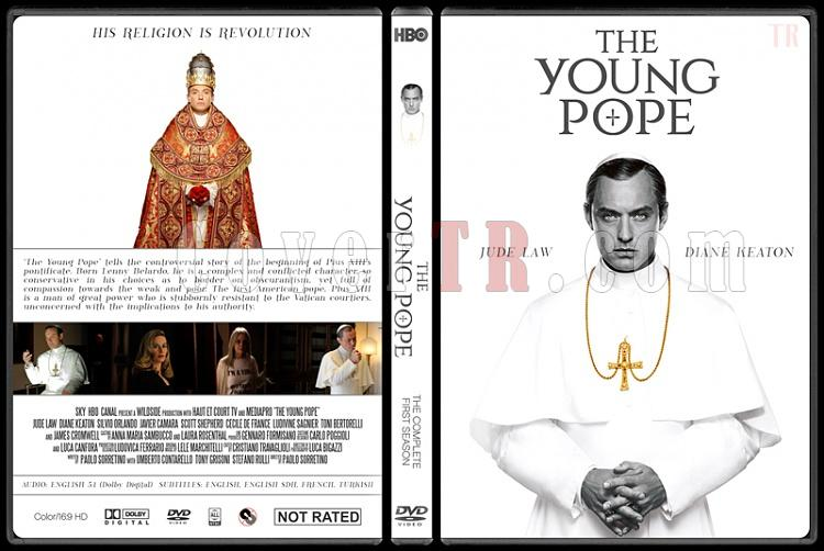 The Young Pope (Season 1) - Custom Dvd Cover - English [2016]-young-pope-season-1-custom-dvd-cover-ctrjpg