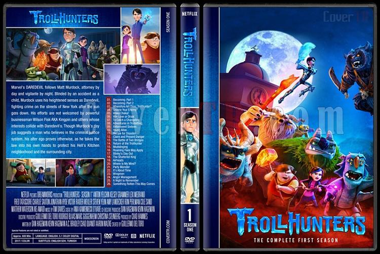 Trollhunters (Season 1) - Custom Dvd Cover Box Set - English [2017-?]-1jpg