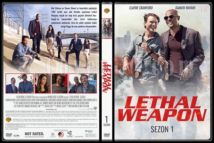 Lethal Weapon - Sezon 1 - Custom Dvd Cover Box Set - Türkçe [2016-?]-standardjpg