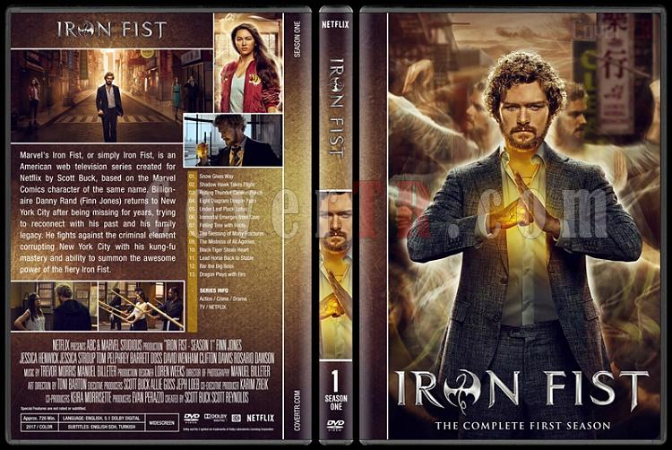 Iron Fist (Season 1) - Custom Dvd Cover Box Set - English [2017-?]-1jpg