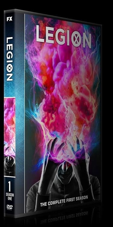 Legion (Season 1) - Custom Dvd Cover Box Set - English [2017-?]-0jpg