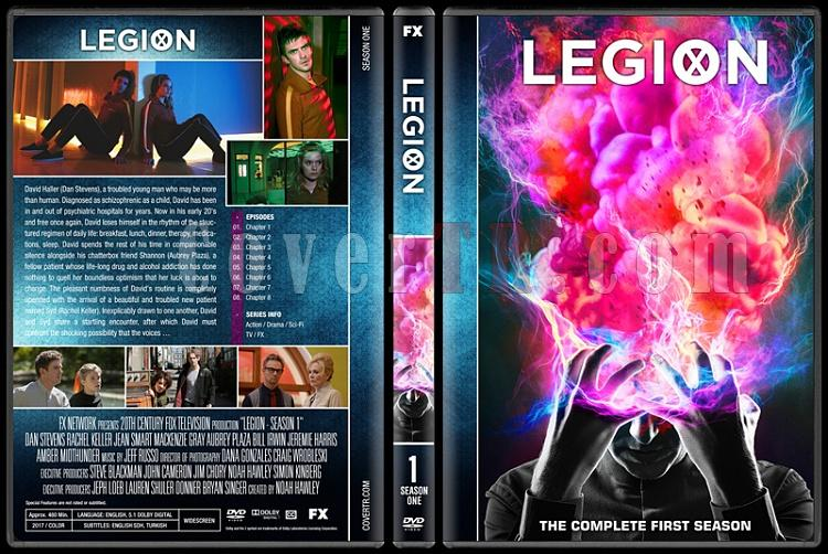 Legion (Season 1) - Custom Dvd Cover Box Set - English [2017-?]-dasdjpg