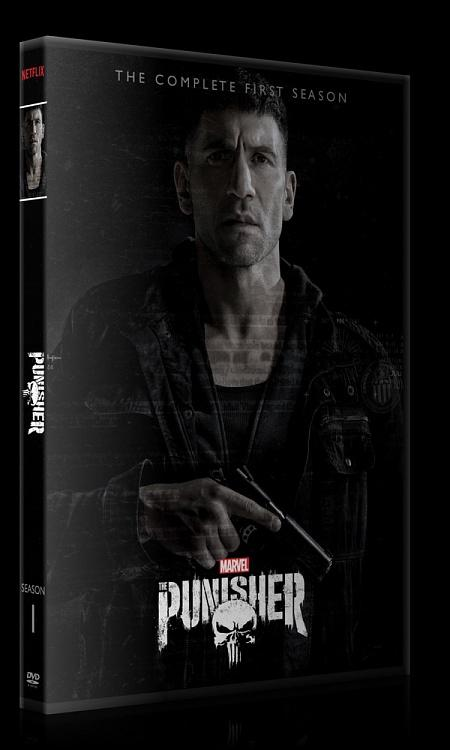 The Punisher (Season 1) - Custom Dvd Cover Box Set - English [2017-?]-0jpg