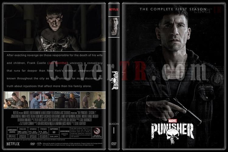The Punisher (Season 1) - Custom Dvd Cover Box Set - English [2017-?]-1jpg