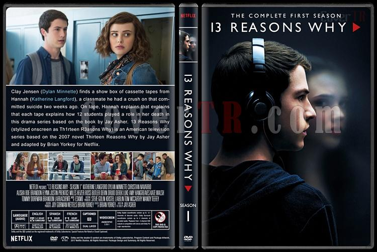 13 Reasons Why (Season 1) - Custom Dvd Cover Box Set - English [2017-?]-1jpg