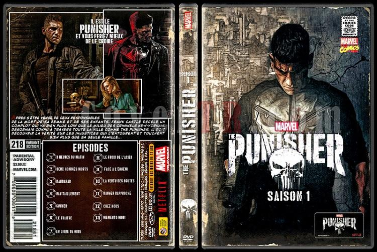 The Punisher (Season 1) - Custom Dvd Cover Box Set - French [2017-?]-standard-punisherjpg