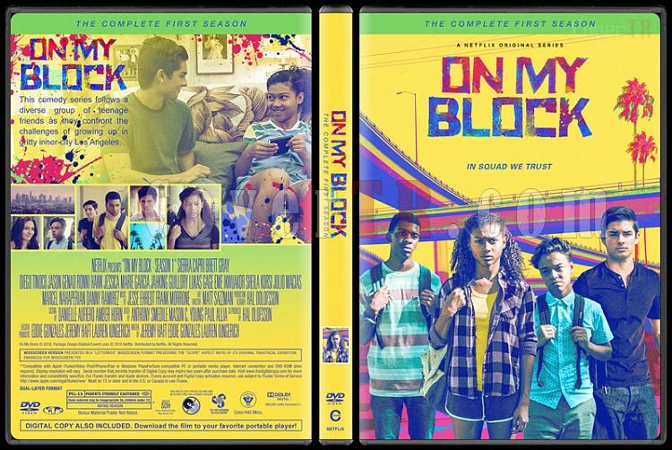 On My Block (Season 1) - Custom Dvd Cover Box Set - English [2018-?]-2jpg
