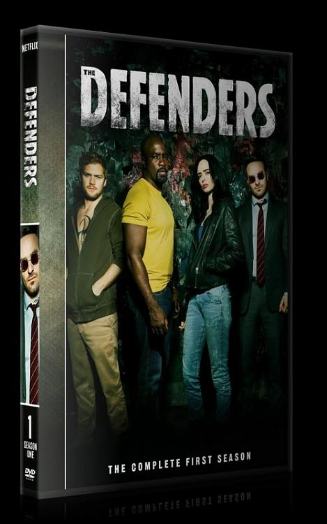 The Defenders (Season 1) - Custom Dvd Cover Box Set - English [2018-?]-0jpg