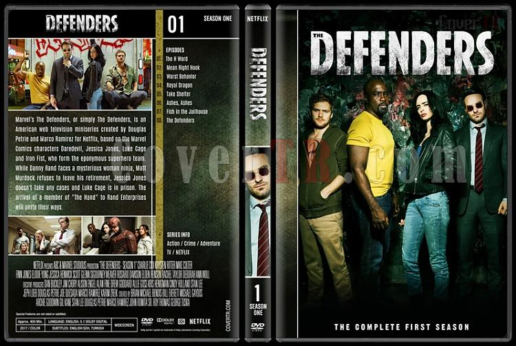 The Defenders (Season 1) - Custom Dvd Cover Box Set - English [2018-?]-1jpg