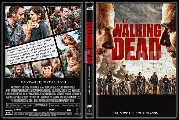 The Walking Dead (Season 8) - Custom Dvd Cover Box Set - English [2018]-1jpg