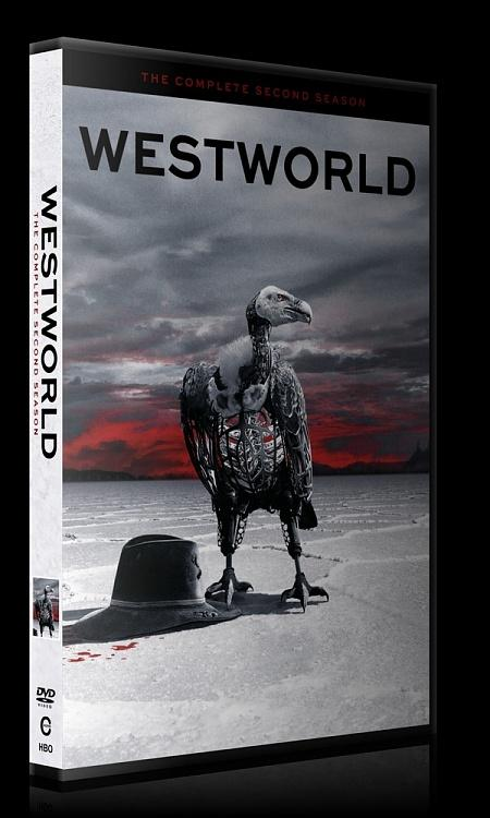 Westworld (Season 2) - Custom Dvd Cover Box Set - English [2018]-0jpg