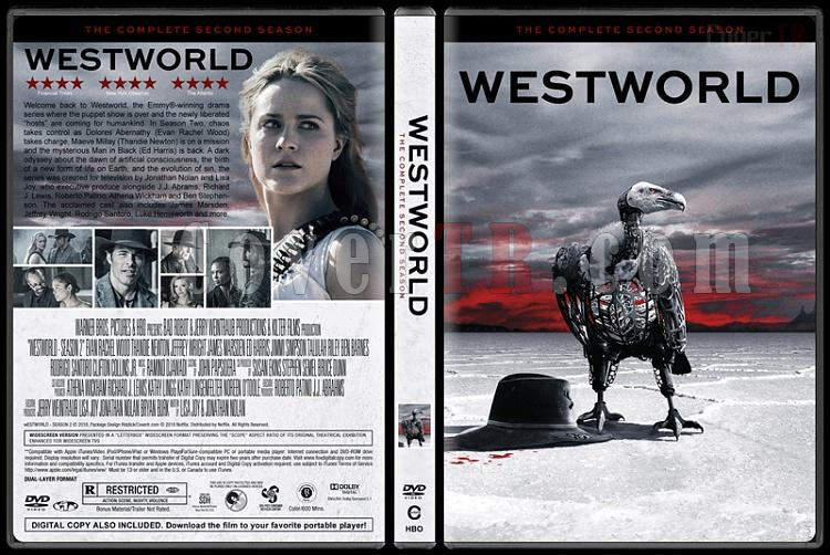 Westworld (Season 2) - Custom Dvd Cover Box Set - English [2018]-1jpg