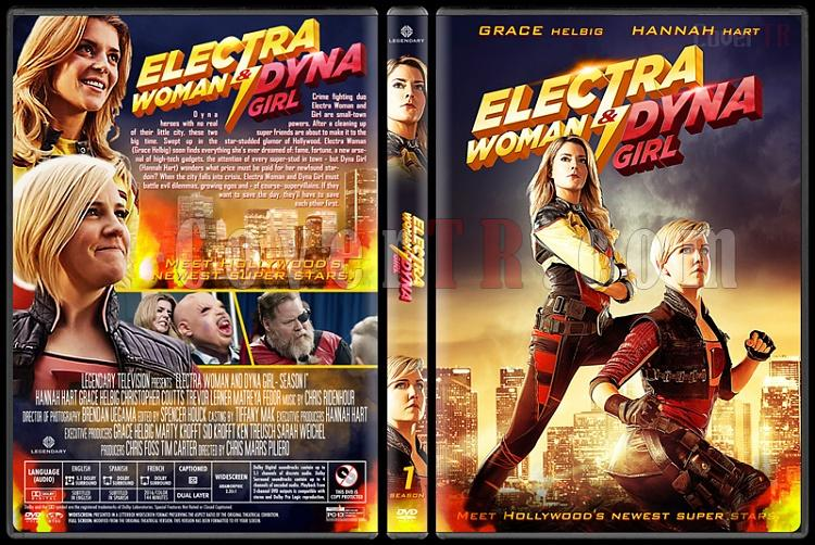 Electra Woman and Dyna Girl (Season 1) - Custom Dvd Cover Box Set - English [2016]-03jpg