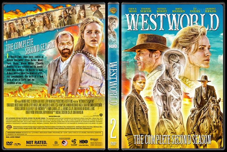 Westworld (Season 2) - Custom Dvd Cover Box Set - English [2018]-03jpg