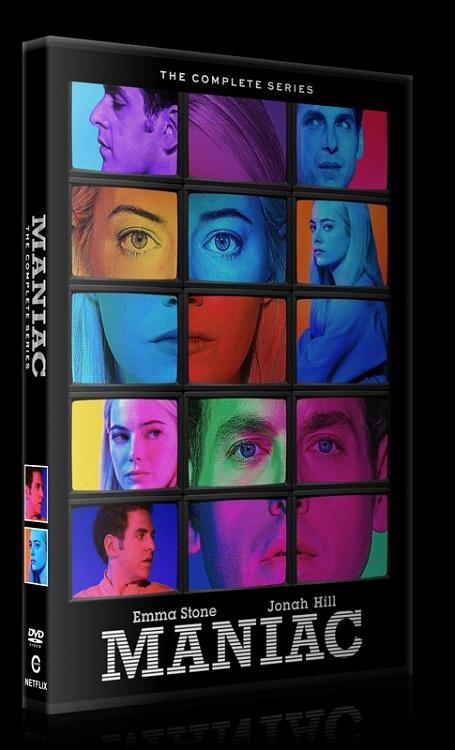 Maniac (Season 1) - Custom Dvd Cover Box Set - English [2018]-0jpg