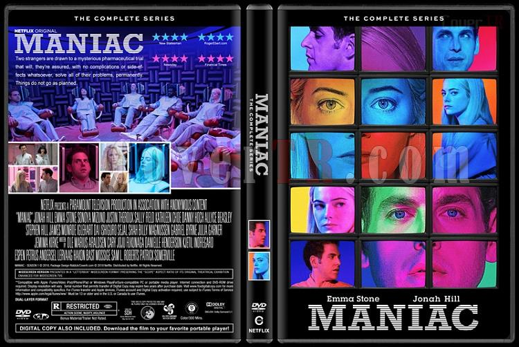 Maniac (Season 1) - Custom Dvd Cover Box Set - English [2018]-1jpg