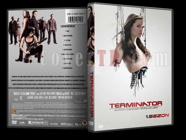 Terminator: The Sarah Connor Chronicles (Sarah Connor Günlükleri) - Custom DVD Cover Set - Türkçe [2008-2009]-2jpg