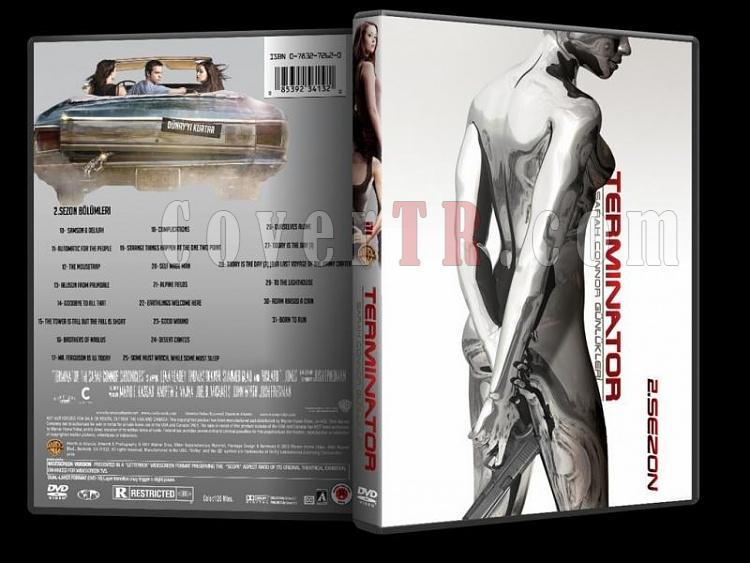 Terminator: The Sarah Connor Chronicles (Sarah Connor Günlükleri) - Custom DVD Cover Set - Türkçe [2008-2009]-3jpg