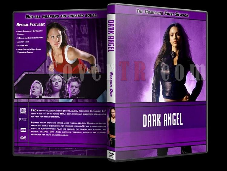 Dark Angel - Custom Dvd Cover Set - English [2000-2002]-dark-angel-season-1-dvd-coverjpg
