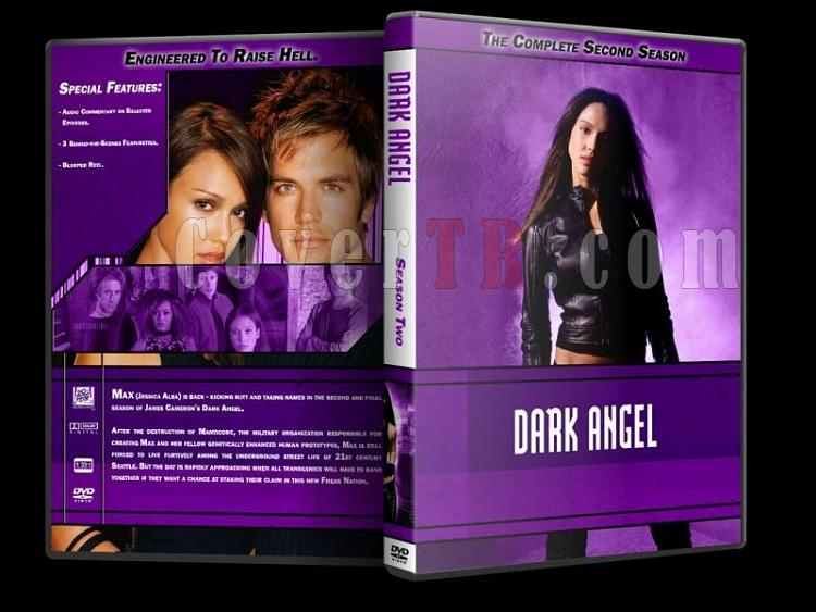 Dark Angel - Custom Dvd Cover Set - English [2000-2002]-dark-angel-season-2-dvd-coverjpg