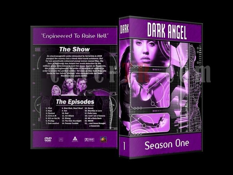 Dark Angel - Custom Dvd Cover Set - English [2000-2002]-dark-angel-season-1-dvd-cover-27mmjpg