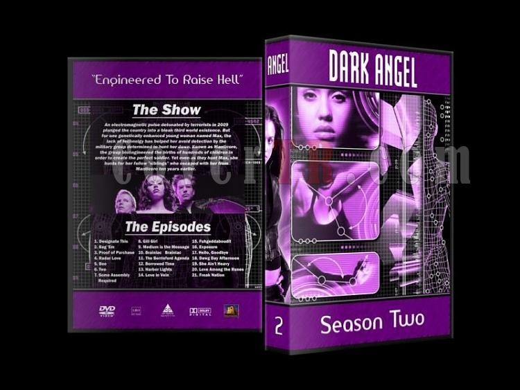 Dark Angel - Custom Dvd Cover Set - English [2000-2002]-dark-angel-season-2-dvd-cover-27mmjpg