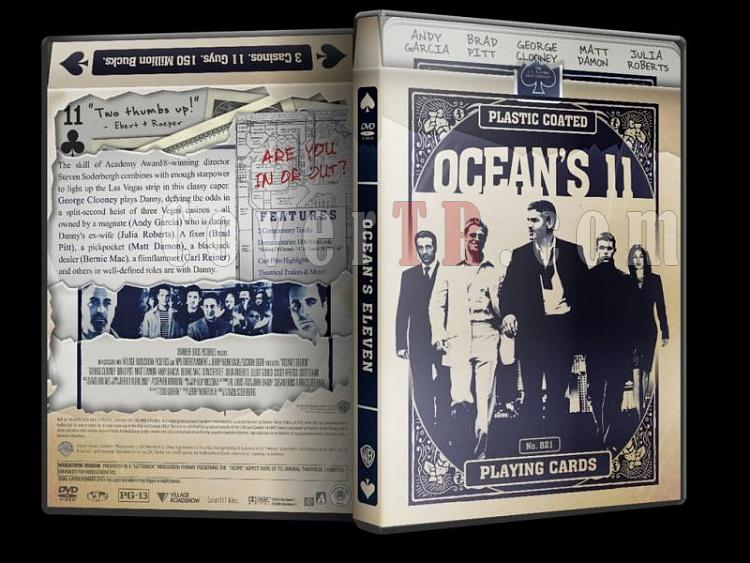 Ocean's Collection - Custom Dvd Cover Set - English [2001-2007]-oceans-11-dvd-coverjpg