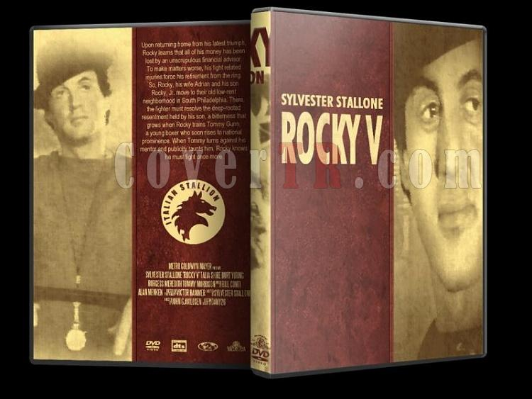 Rocky Collection - Custom Dvd Cover Set - English [1976-2006]-rocky-5-dvd-cover-wwwcovertrcomjpg