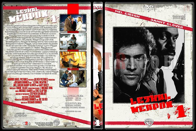 Lethal Weapon (Cehennem Silahı) Collection - Custom Dvd Cover Set - English [1987-1998]-lethal_weapon_1_originaljpg