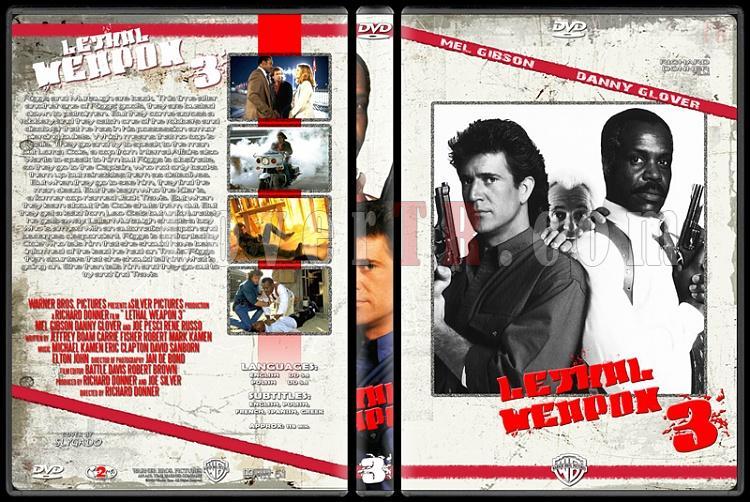Lethal Weapon (Cehennem Silahı) Collection - Custom Dvd Cover Set - English [1987-1998]-lethal_weapon_3_originaljpg