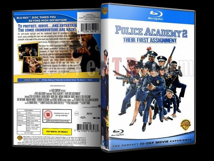 Police Academy (Polis Akademisi) - Custom Dvd Cover - English [1984-1994]-police-academy-bluray-disk-2jpg