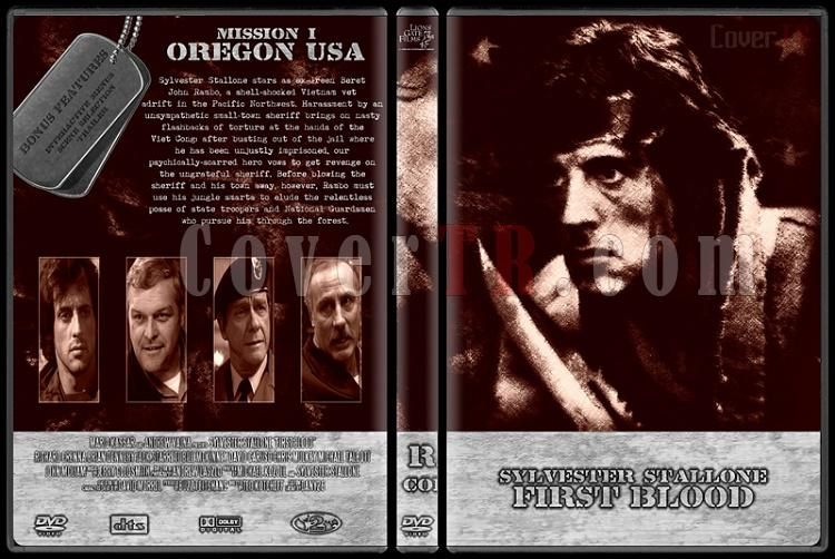 Rambo Collection - Custom Dvd Cover Set - English [1982-2008]-rambo-1-dvd-cover-wwwcovertrcomjpg