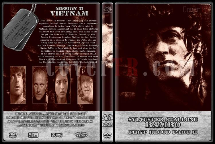 Rambo Collection - Custom Dvd Cover Set - English [1982-2008]-rambo-2-dvd-cover-wwwcovertrcomjpg