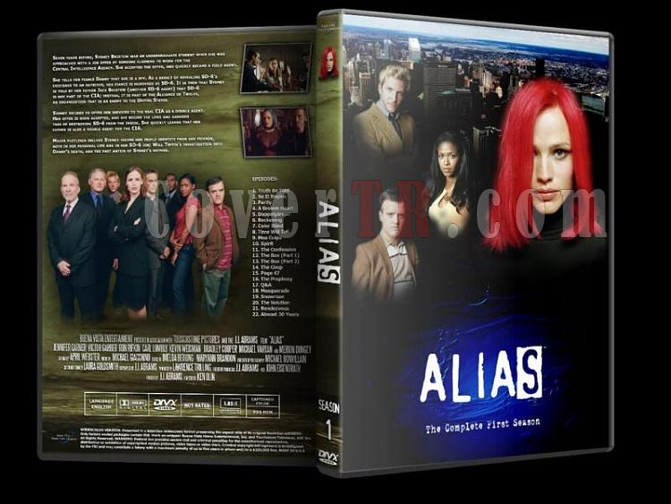 Alias (Seasons 1-5) - Custom Dvd Cover Set - English [2001-2006]-alias-season-1jpg