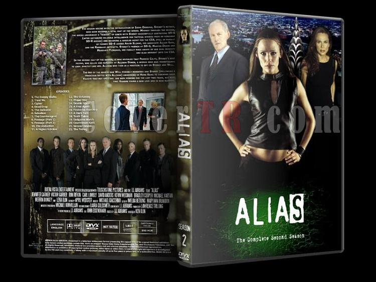 Alias (Seasons 1-5) - Custom Dvd Cover Set - English [2001-2006]-alias-season-2jpg