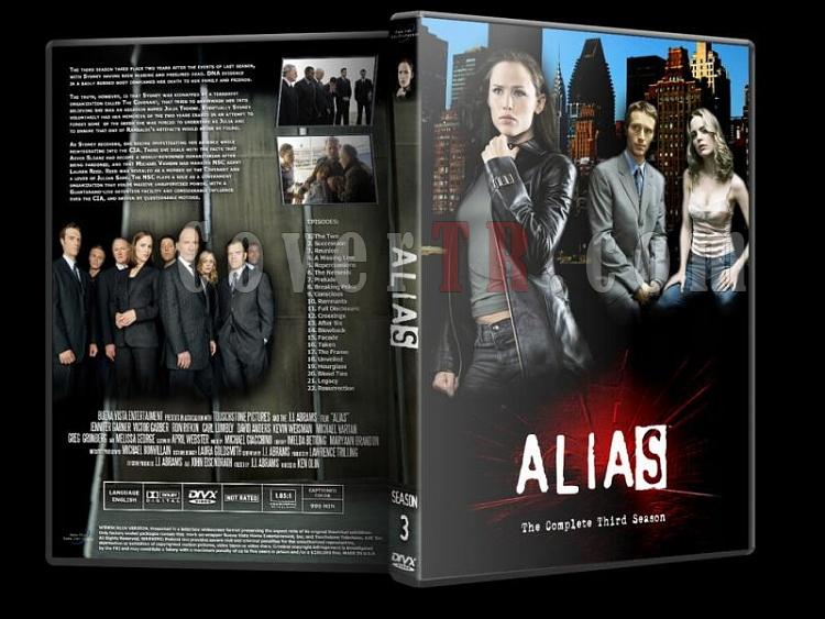 Alias (Seasons 1-5) - Custom Dvd Cover Set - English [2001-2006]-alias-season-3jpg