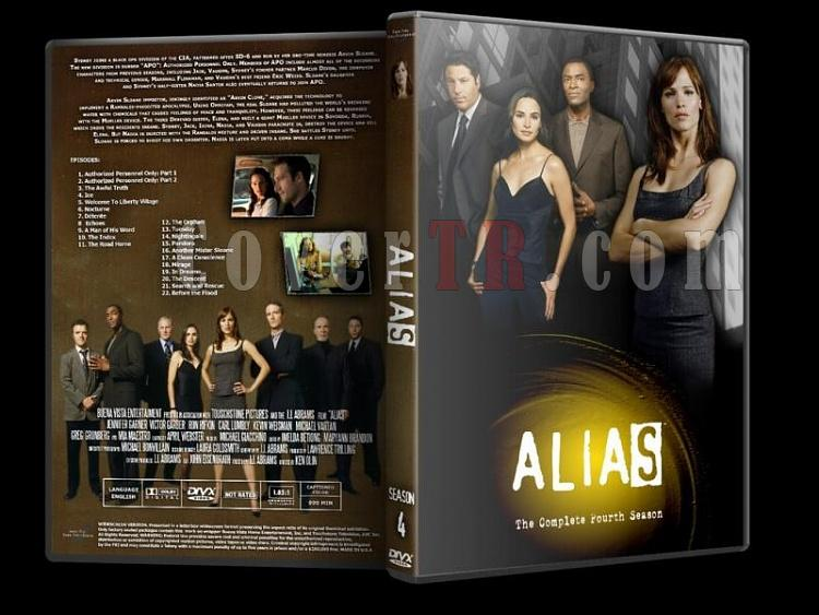 Alias (Seasons 1-5) - Custom Dvd Cover Set - English [2001-2006]-alias-season-4jpg