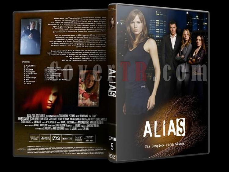 Alias (Seasons 1-5) - Custom Dvd Cover Set - English [2001-2006]-alias-season-5jpg
