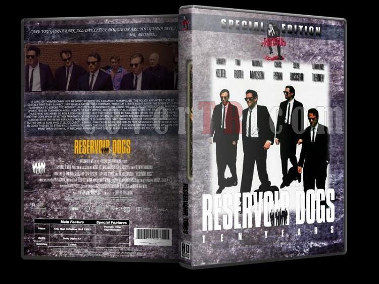 Quentin Tarantino Collection - Custom Dvd Cover Set - Türkçe [1994-2009]-1-reservoir-dogsjpg