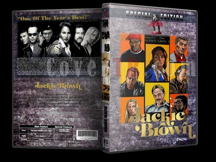 Quentin Tarantino Collection - Custom Dvd Cover Set - Türkçe [1994-2009]-4-jackie-brownjpg