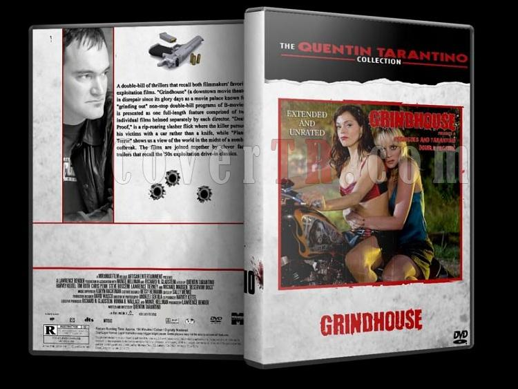 Quentin Tarantino Collection - Custom Dvd Cover Set - English [1992-2009]-grindhousejpg
