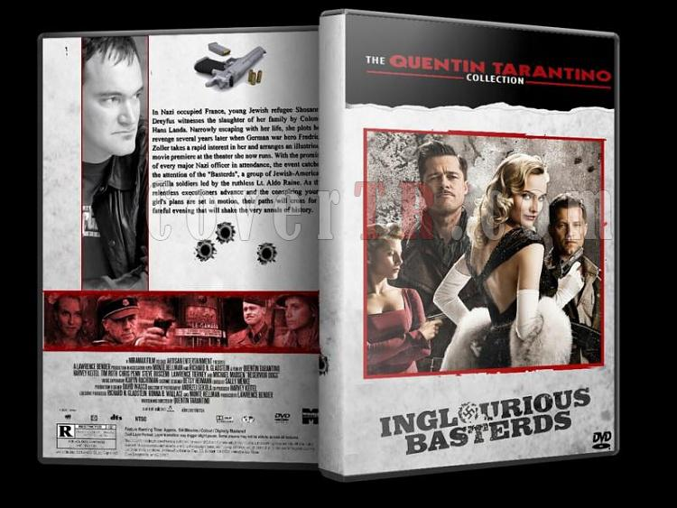 Quentin Tarantino Collection - Custom Dvd Cover Set - English [1992-2009]-inglourious-basterdsjpg