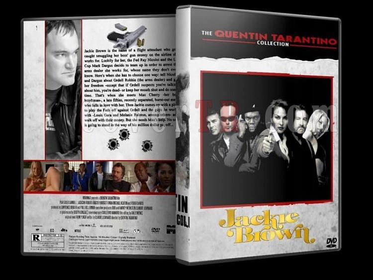 Quentin Tarantino Collection - Custom Dvd Cover Set - English [1992-2009]-jackie-brawnjpg