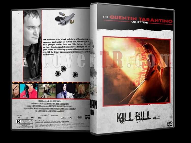 Quentin Tarantino Collection - Custom Dvd Cover Set - English [1992-2009]-kill-bill-2jpg