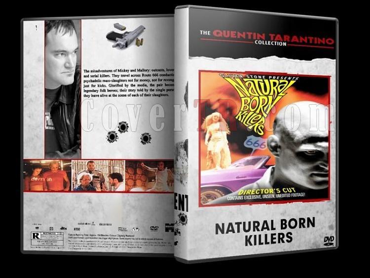 Quentin Tarantino Collection - Custom Dvd Cover Set - English [1992-2009]-natural-born-killersjpg