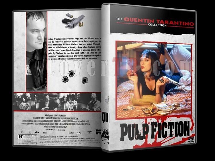 Quentin Tarantino Collection - Custom Dvd Cover Set - English [1992-2009]-pulp-fictionjpg