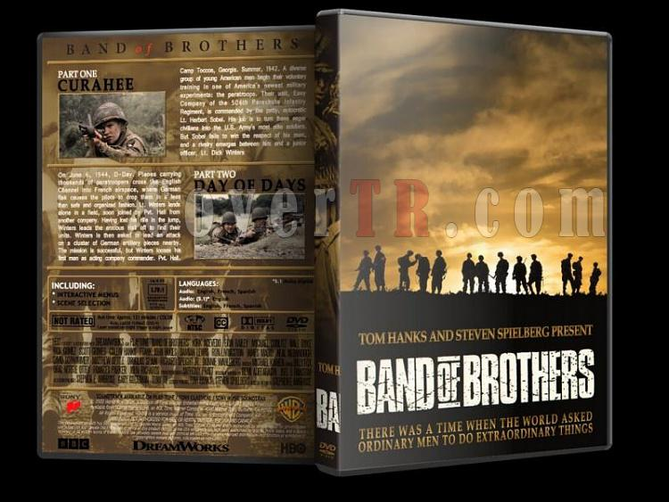 Band of Brothers (Kardeşler Takımı) Collection - Custom Dvd Cover Set [2001]-band-o-brothers-1jpg